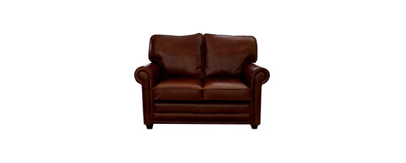 Traditional leather sofa the lincoln from the english for Traditional leather sofa bed