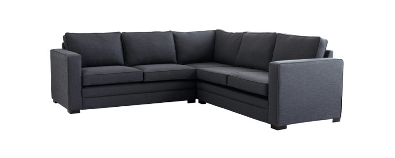 Black Fabric Sofas For Sale