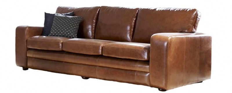 Leather Sofabed Abbey The English Sofa Company