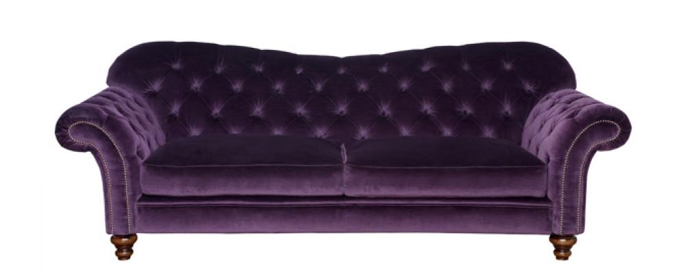 Crompton Vintage Fabric Sofa Fabric Chesterfield Sofas
