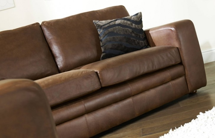 Abbey Leather Corner Settee Leather Corner Sofas