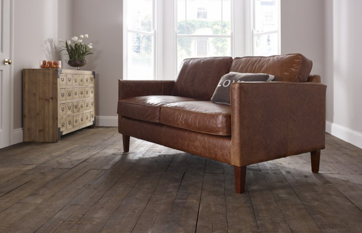 Columbus Small Leather Sofa Leather Sofas