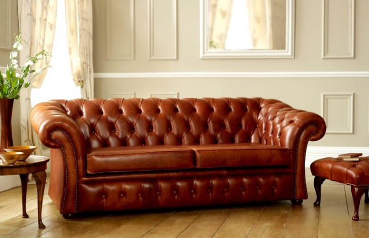 Pemberton Chesterfield Sofa Bed Leather Sofas
