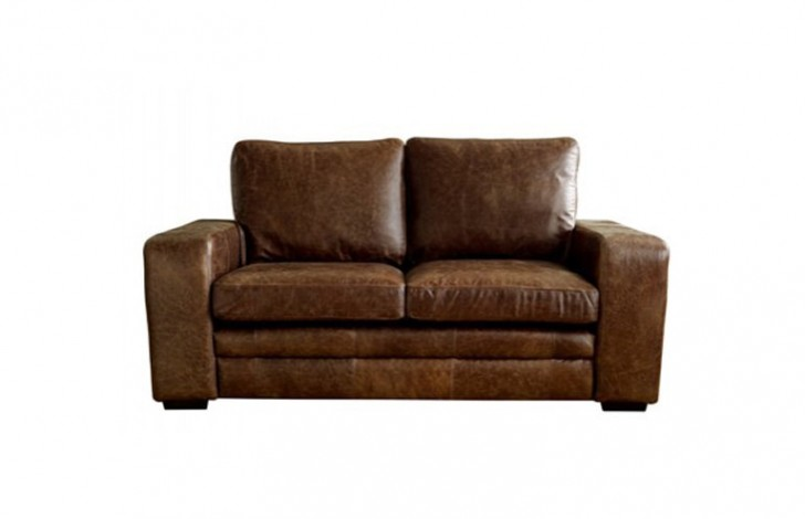 Brown modern leather sofabed leather sofas for Denver sofa bed