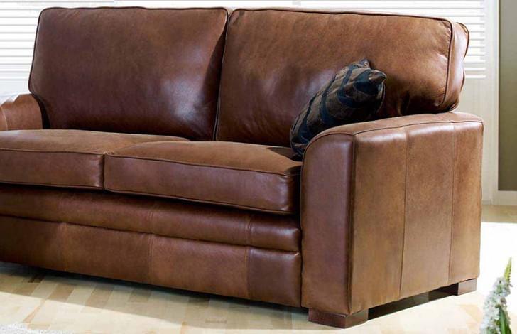 Liberty Brown Leather Sofa Leather Sofas