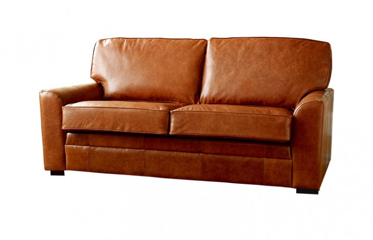 London Tan Leather Sofa Bed Leather Sofas