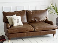 Holbeck Vintage Leather Couch