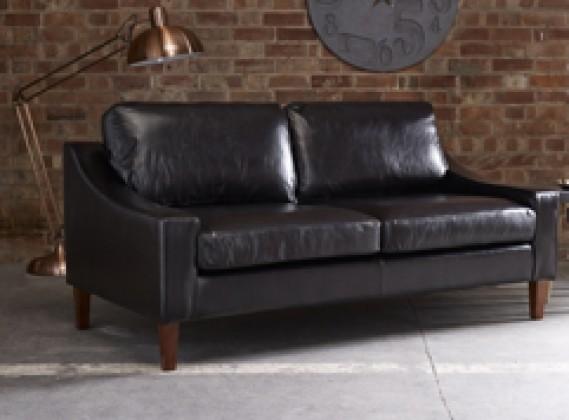 Hilary Modern Leather Sofa