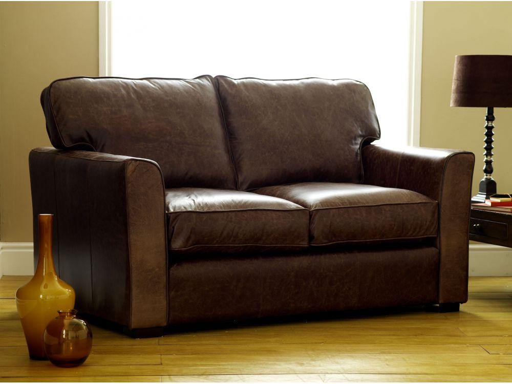 Comfy Leather Sofa Torino The