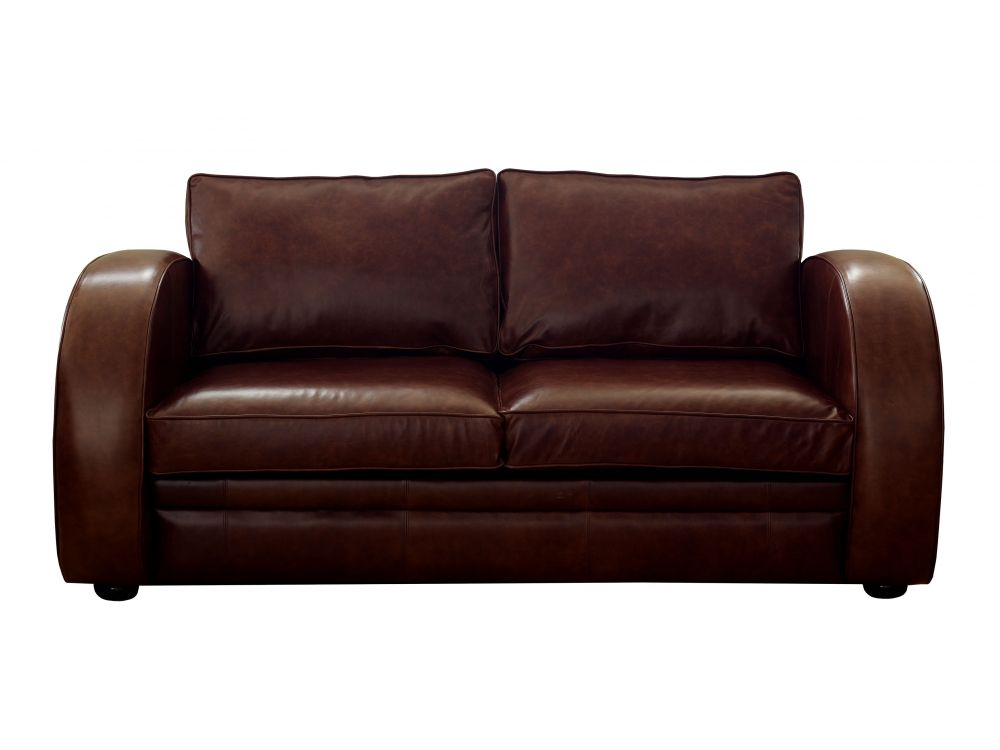 Art deco leather sofa deco the english sofa company for Sofa sofa company