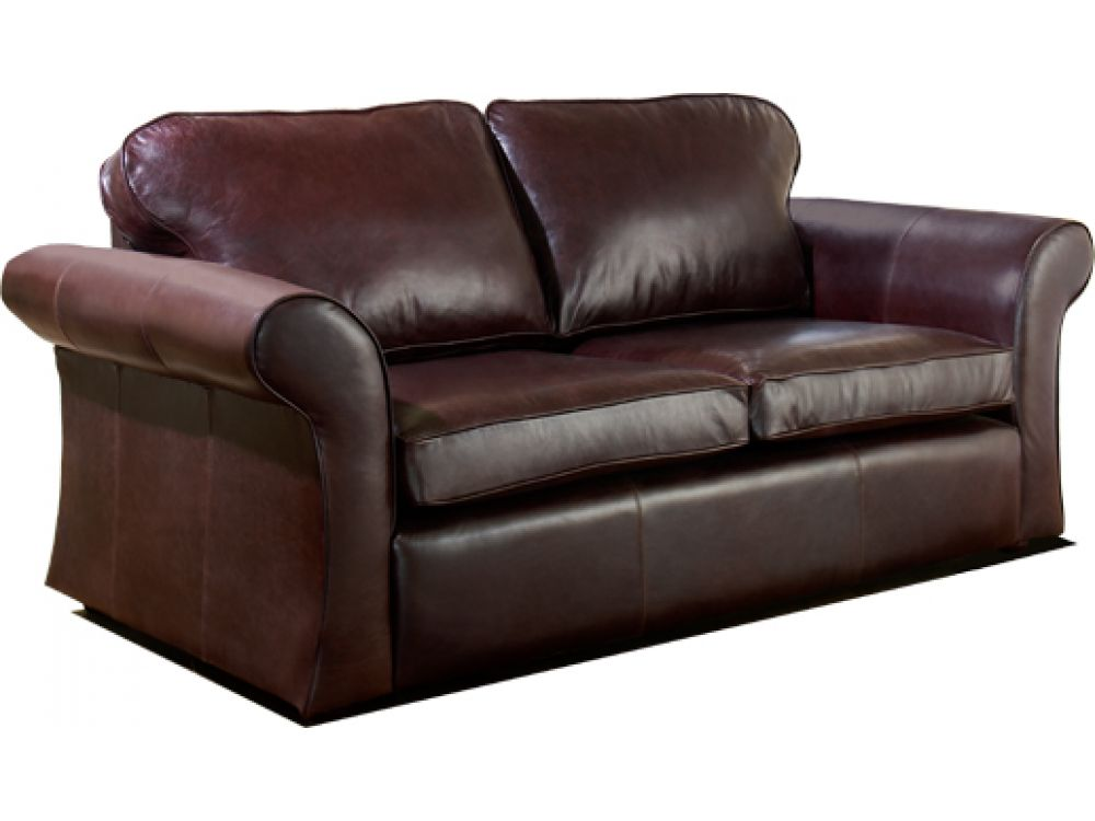 Dark brown leather sofa chatsworth english sofa company for Sofa company