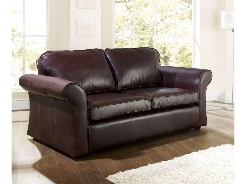 Dark Brown Leather Sofa Chatsworth English Sofa Company