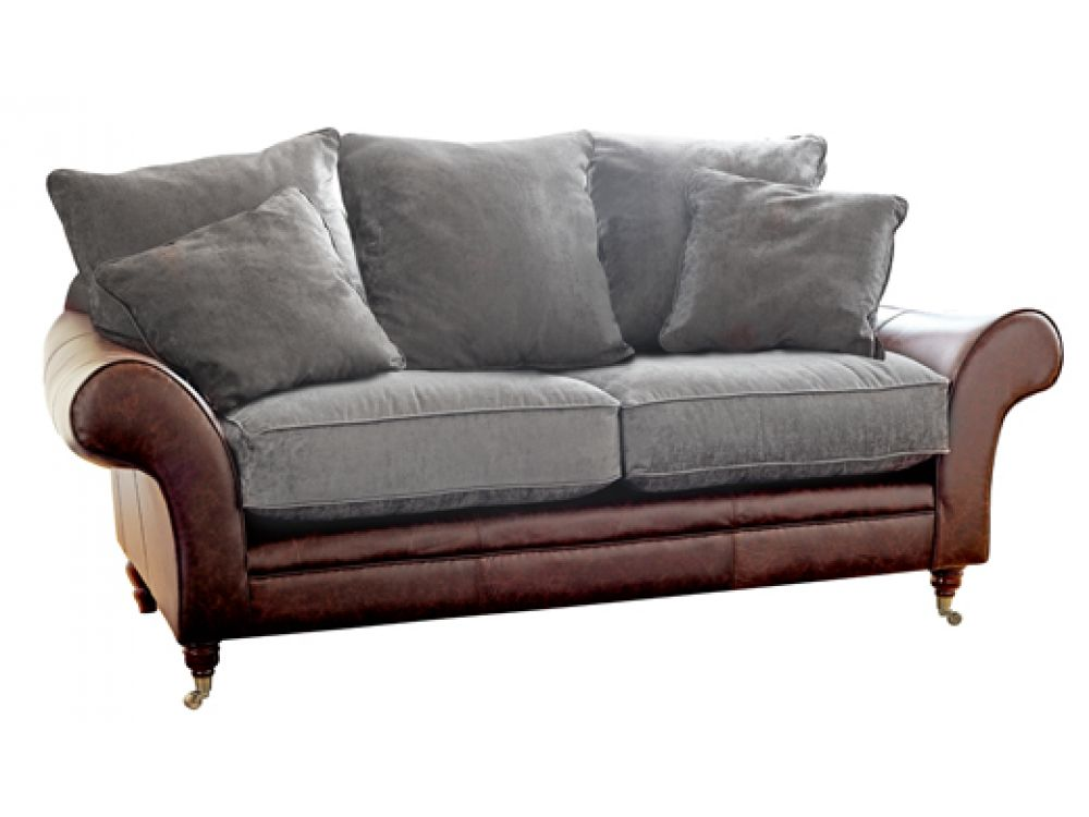 Leather Fabric Sofa The Atlanta The English Sofa Company