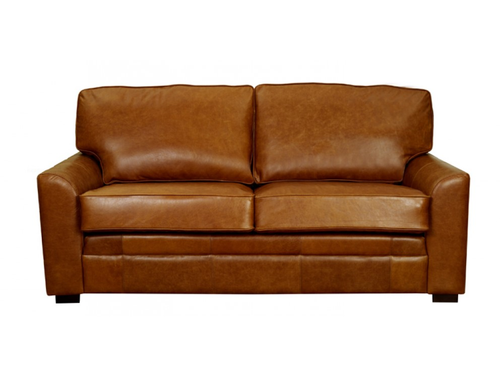 London Leather Sofa Brown Leather The English Sofa Company