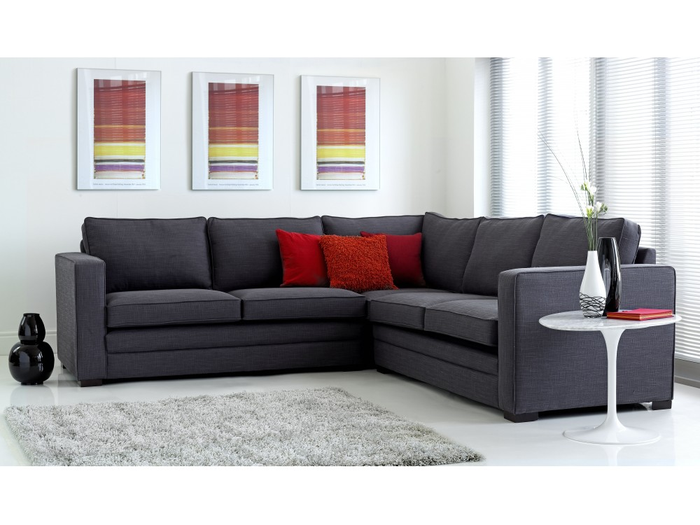 Modular Fabric Corner Sofa Click To Zoom