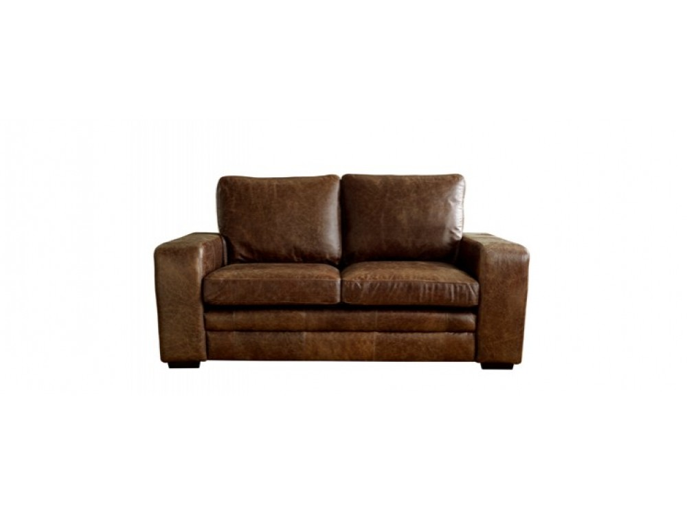 Brown modern leather sofabed denver sofa beds for Leather sectional sofa denver