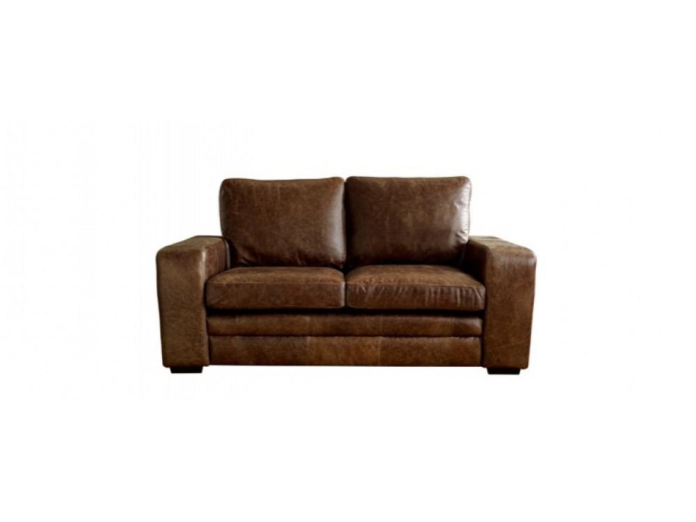 Brown modern leather sofabed denver sofa beds for Denver sofa bed