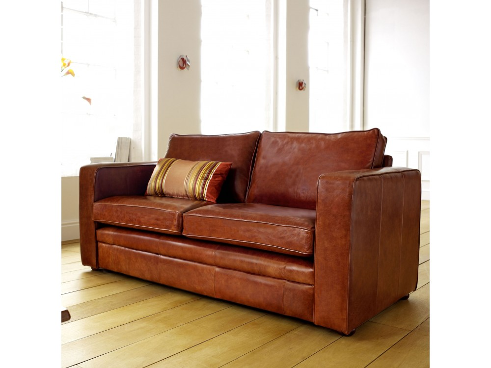 Small Leather Sofa Beds Small Leather Sofa Bed My