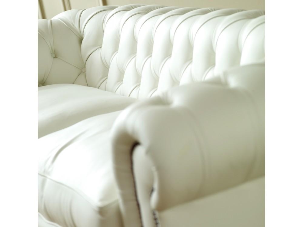 The Darlington White Chesterfield Sofa The English Sofa