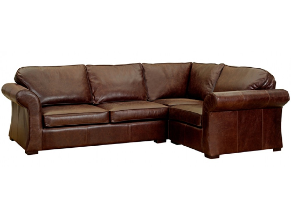 Vintage leather corner sofa chatsworth english sofa for Sofa company