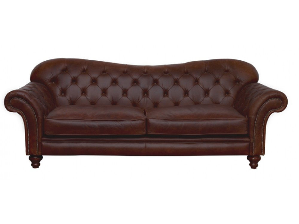 Crompton large chesterfield sofa leather sofas Leather chesterfield loveseat