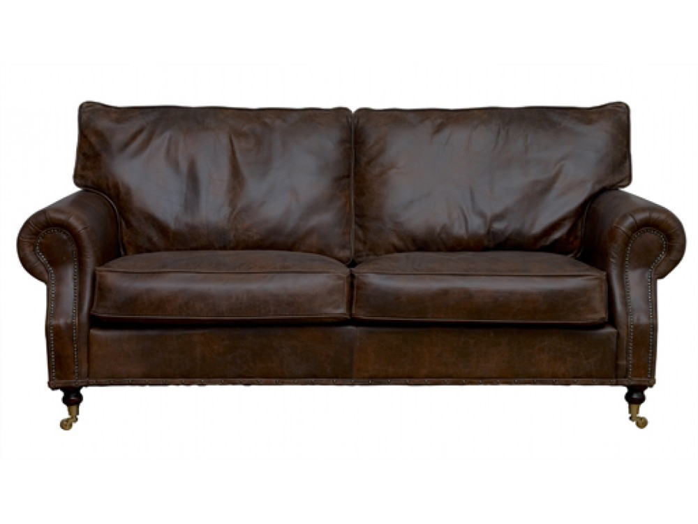 the arlington vintage leather sofa. Black Bedroom Furniture Sets. Home Design Ideas