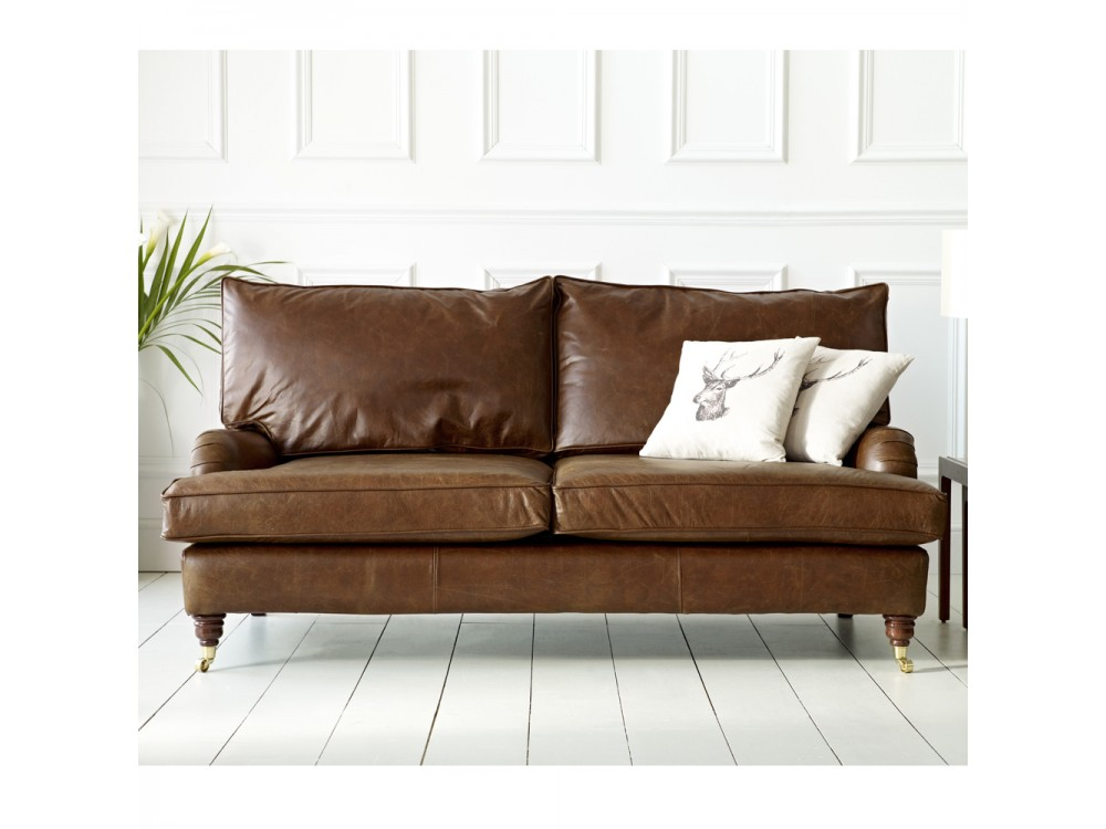 Vintage Leather Sofa 108