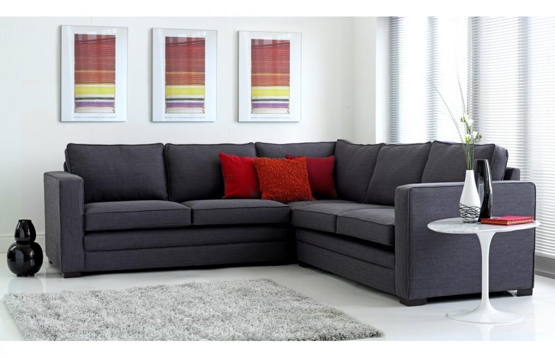fabric corner sofa trafalgar fabric corner sofas. Black Bedroom Furniture Sets. Home Design Ideas