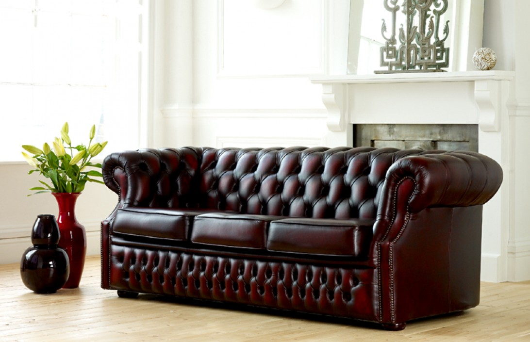 Kendal Classic Chesterfield Sofa Leather Sofas