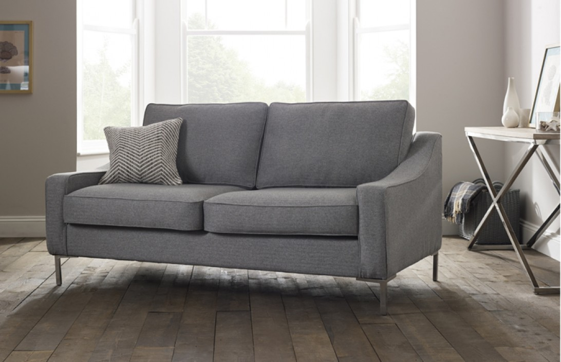 4 seater hilary modern fabric sofa for Sofa company