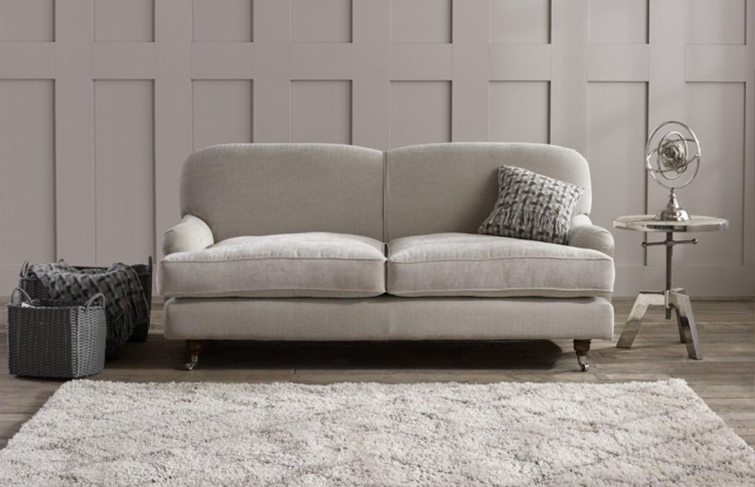3 Seater George Fabric Sofa Fabric Sofas