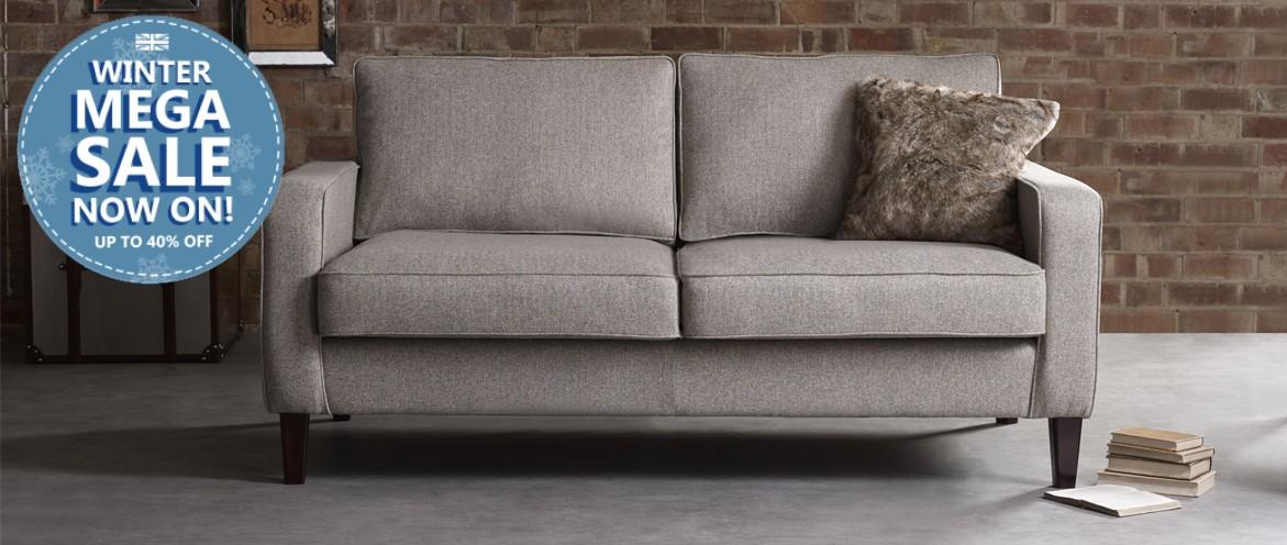 Drake Nordic Sofa - Extended Winter Mega Sale Ends 31st Jan!