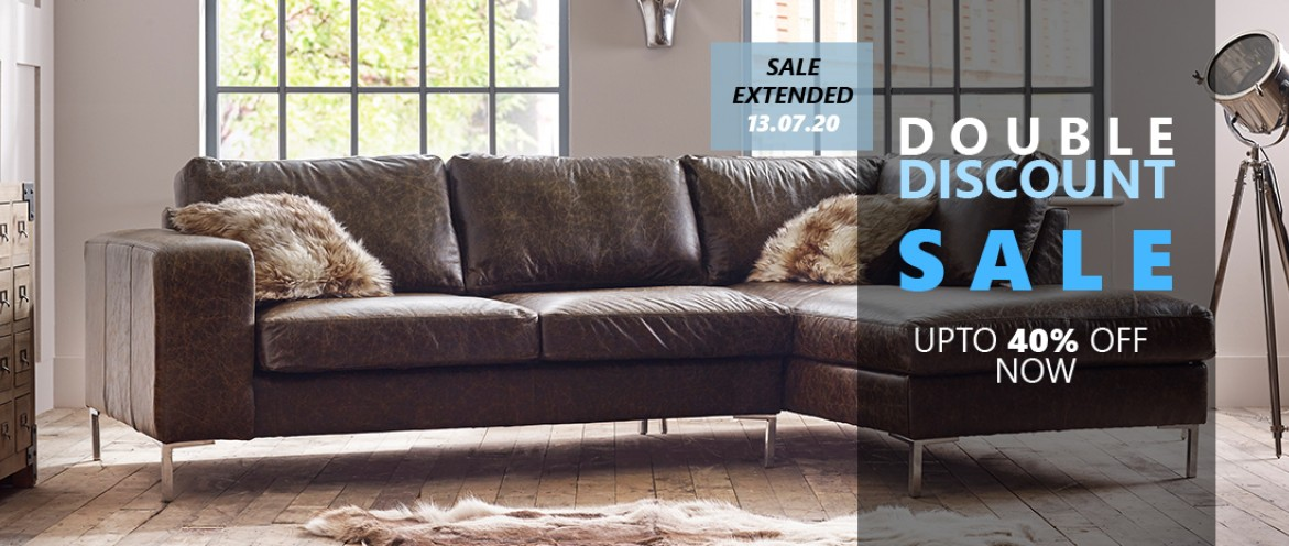 Save Up To 40% Off Made To Order Sofas In Our Double Discount Sale