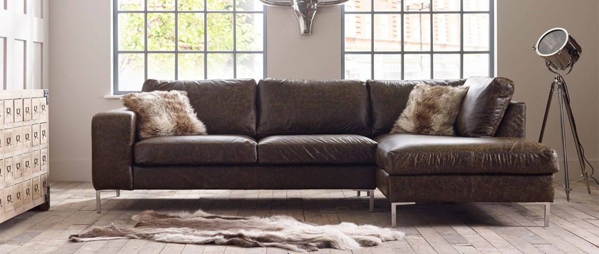 Wellington Chaise Corner Sofa Right Hand Facing