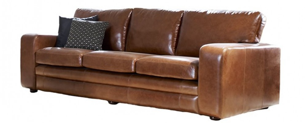Abbey Leather Couch Bed 1 5 Seater Leather Sofas