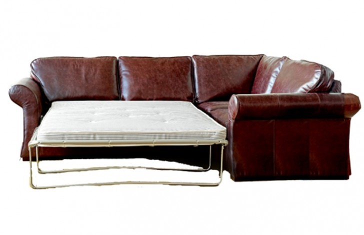 Chatsworth Leather Corner Sofa Bed | Corner Sofa Beds