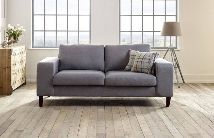Wellington Contemporary Fabric Sofa