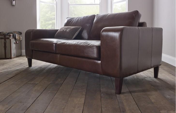 Wellington Contemporary Leather Sofa | Leather Sofas
