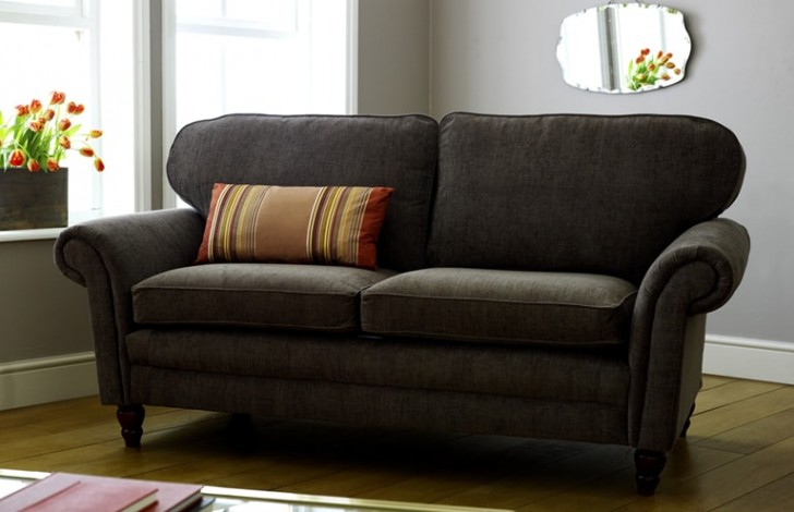 Cromwell Fabric Sofa On Legs