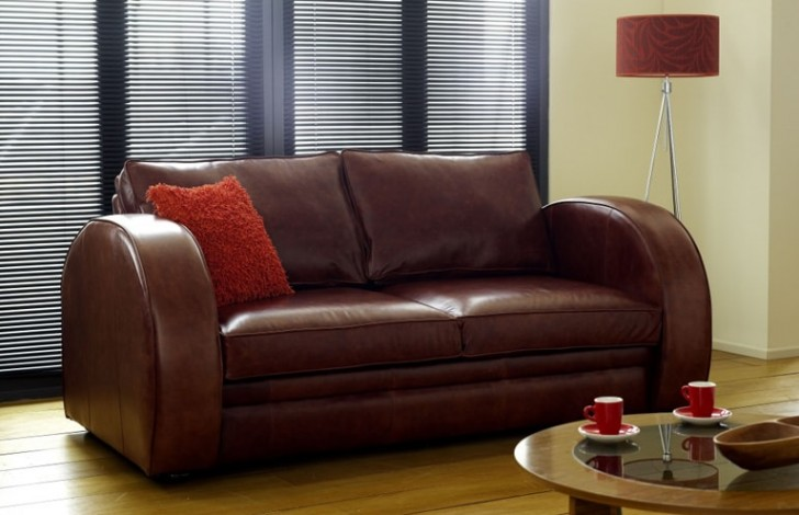 Art Deco Sofa Leather Sofas