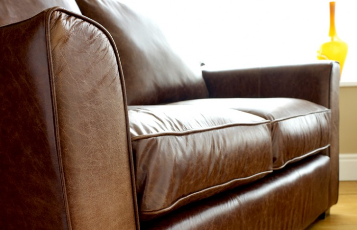 Torino Leather Sofa Beds
