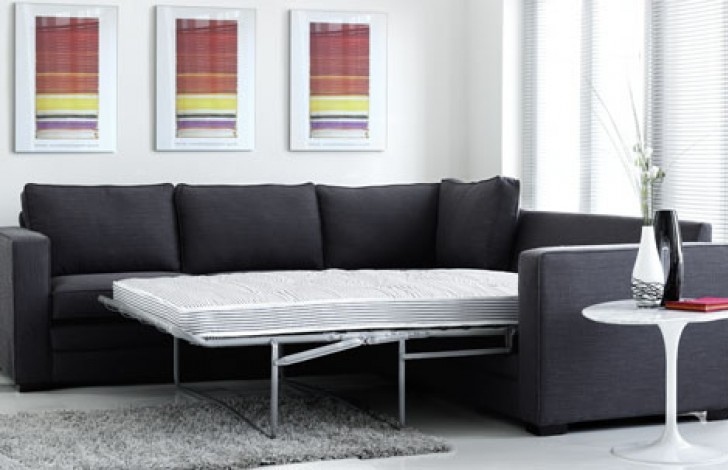 Trafalgar Fabric Corner Sofa Bed