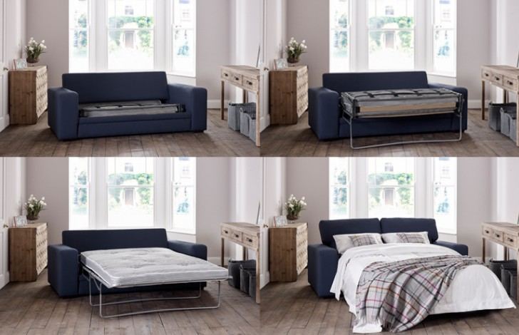 Torino Modern Fabric Sofa Bed