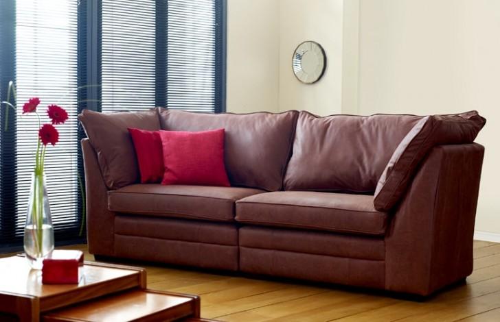 Montana Large Leather Sofa