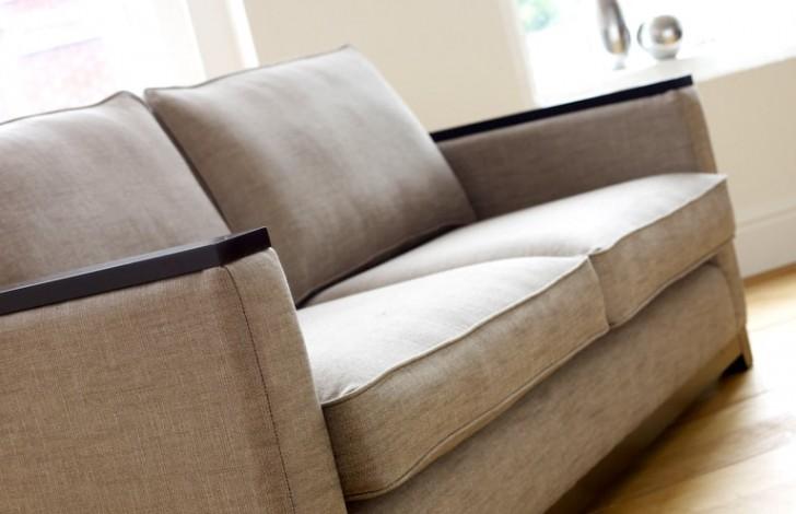 Mayfair Wood Trim Sofa