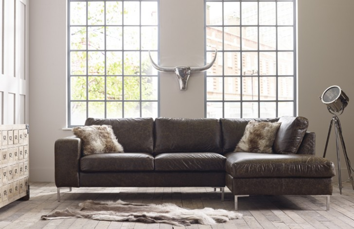 Wellington Chaise Corner Sofa Right Hand Facing