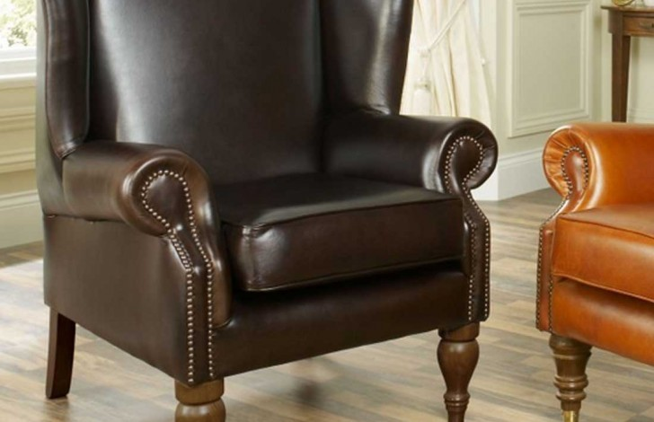 Douglas Leather Armchair