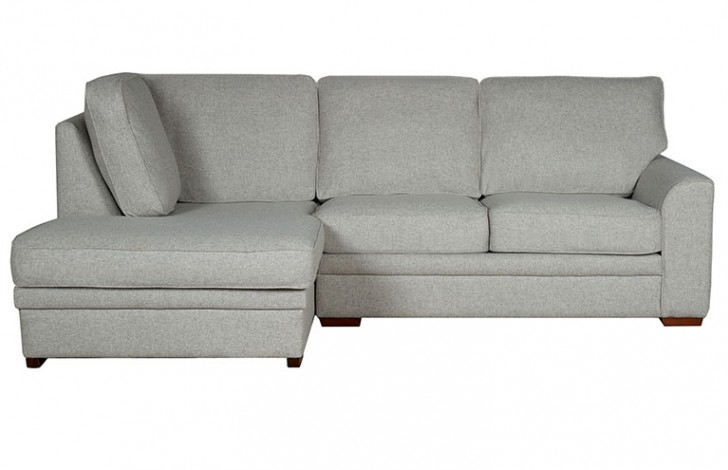 Liberty contemporary chaise sofabed left hand facing