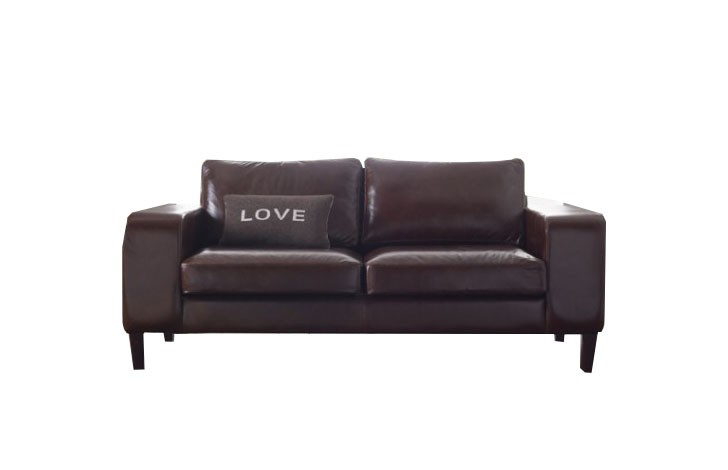 Wellington Contemporary Leather Sofa