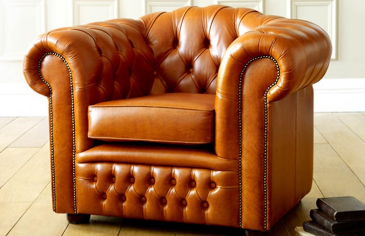 Ashford Vintage Leather Sofa bed